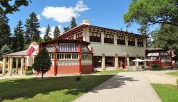 Lázně Mšené - pavillon Dvorana