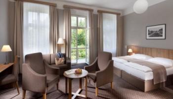 Spa & Kur hotel Praha - pokoje